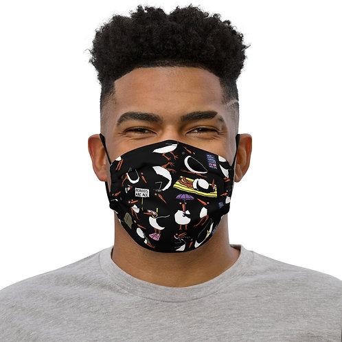 Lardy Oystercatcher Black Face mask