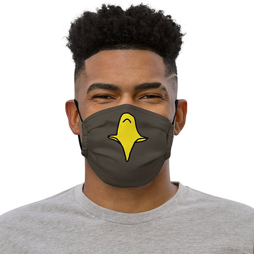 Temp Eagle beak washable face mask