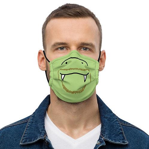 JollyCroc crocodilian washable face mask