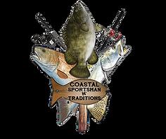 Coastal Sportsman N' Traditions logo cop