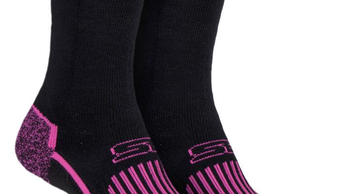 2 Pairs Ladies Blueguard Cotton Hiking Socks