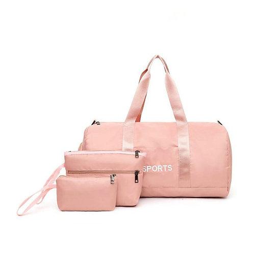 Duffel Sports Women Gym Bags Set Outdoor Travel Bags Waterproof Fitness Yoga