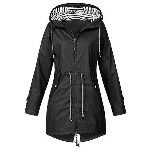 Hiking Jacket Lightweight Raincoat Outdoor Women Jacket Coat Windproof