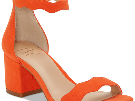 Would you wear these Sandals? I.N.C. Women's Hadwin Scallop Two-Piece Sandals
