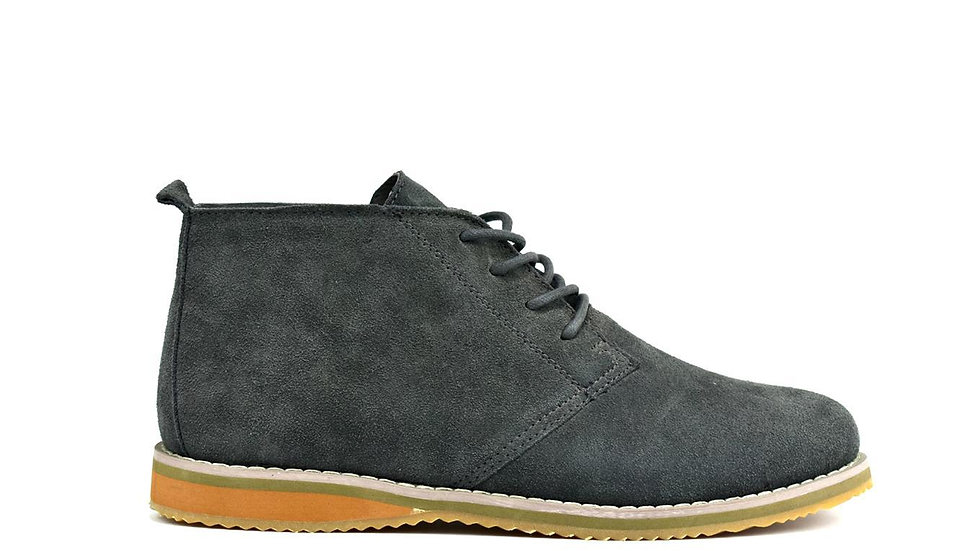 Men's Suede Desert Boot Grey
