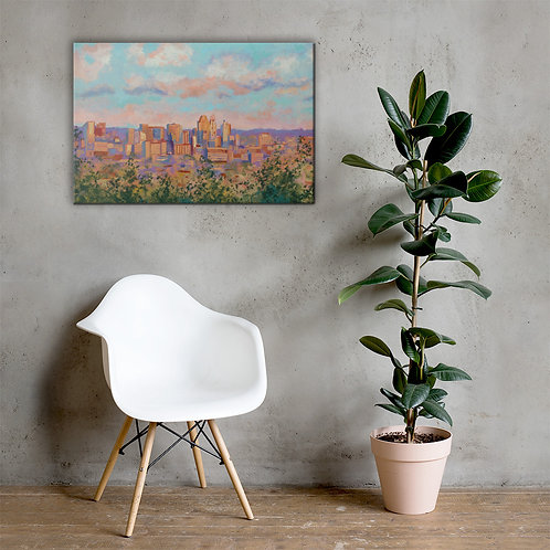 I'm Inclined to Think Canvas Print