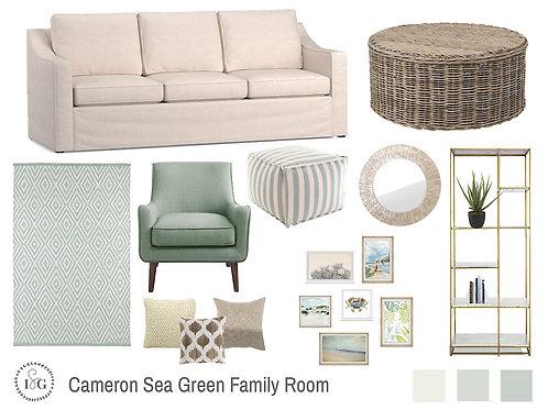 Cameron Sea Green
