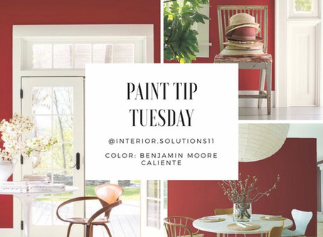 Paint Tip Tuesday: CALIENTE