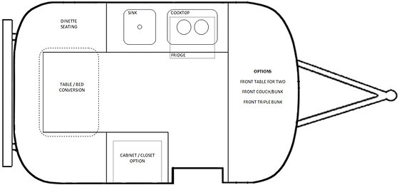 Floor Plans Armadillo Trailers