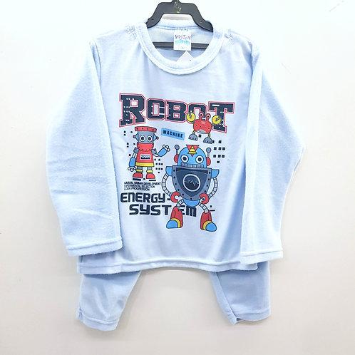 Conjunto Soft Robot Azul - Viston Kids