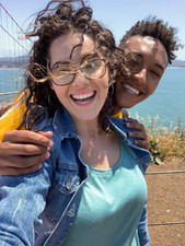 Ashley & Chris @ Golden Gate Bridge