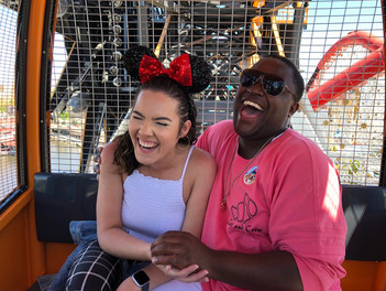 Ashley & Joshua @ Pixar Pier