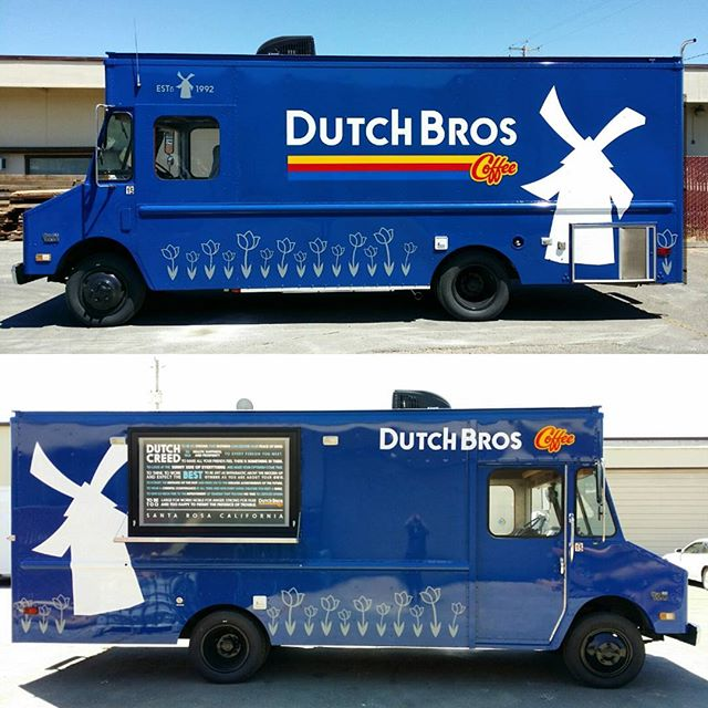 We just finished up building this rad step van for our friends at _dutchbrossantarosa It features a