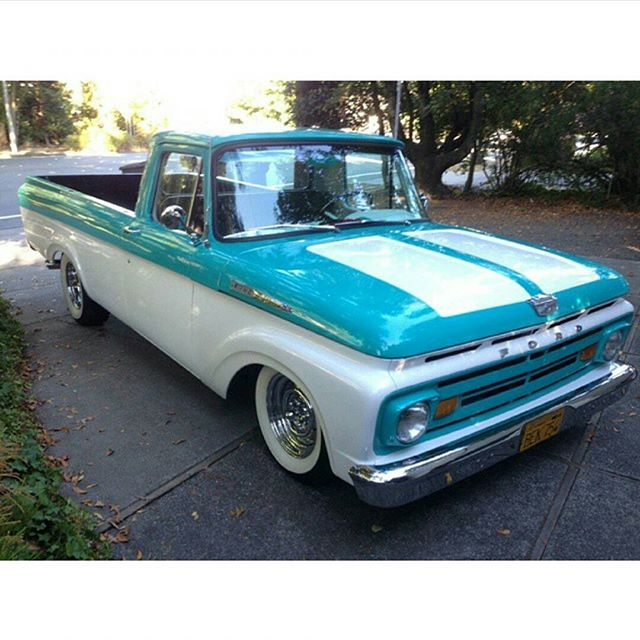62 Ford F100 Unibody built for a good friend and client