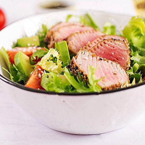 Salat cá ngừ sốt coktail