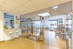 Eingang Fitnessbereich