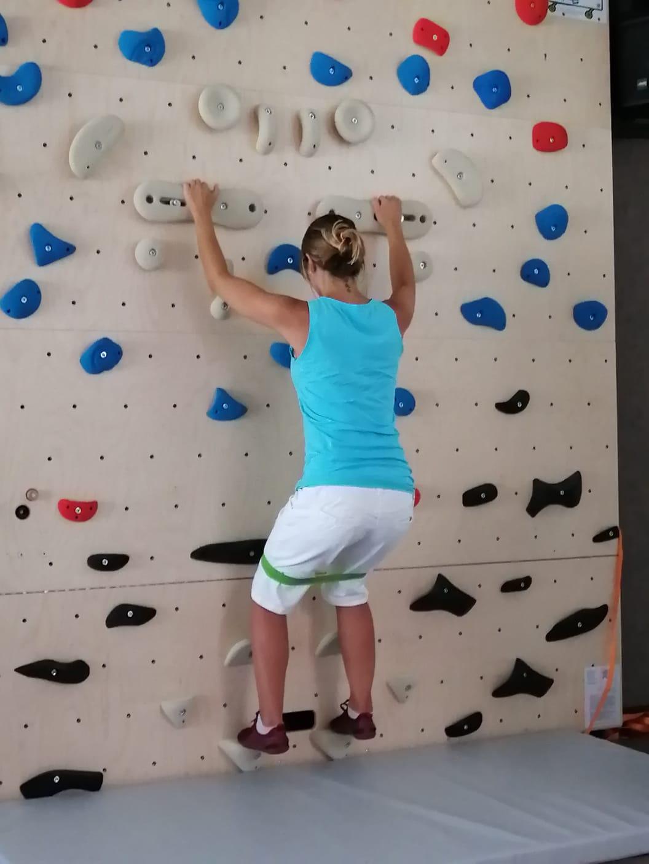 Einschulung Physios Boulderwand (5)