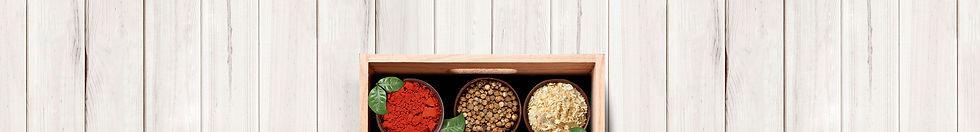 Especiarias e Óleos Essesnciais Para Alimentos