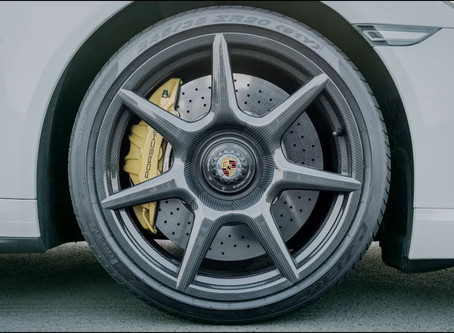 The new 20-inch 911 Turbo Carbon Wheel for the 911 Turbo S Exclusive Series