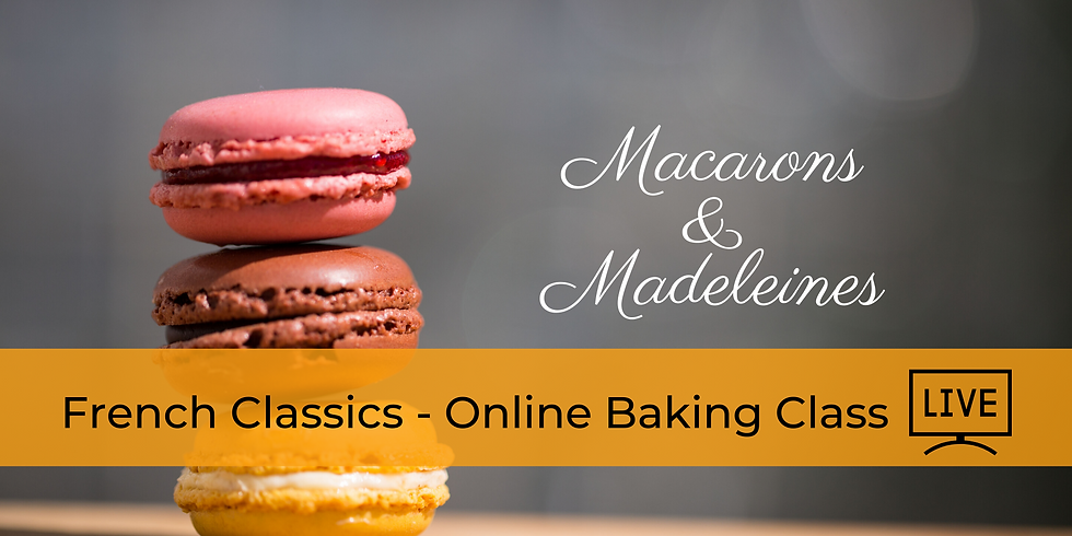 Classic French Cookies - Online Cooking Class
