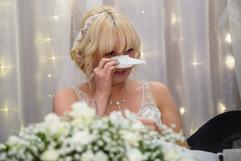 Bride enjoying the moment at Cwrt Bleddyn