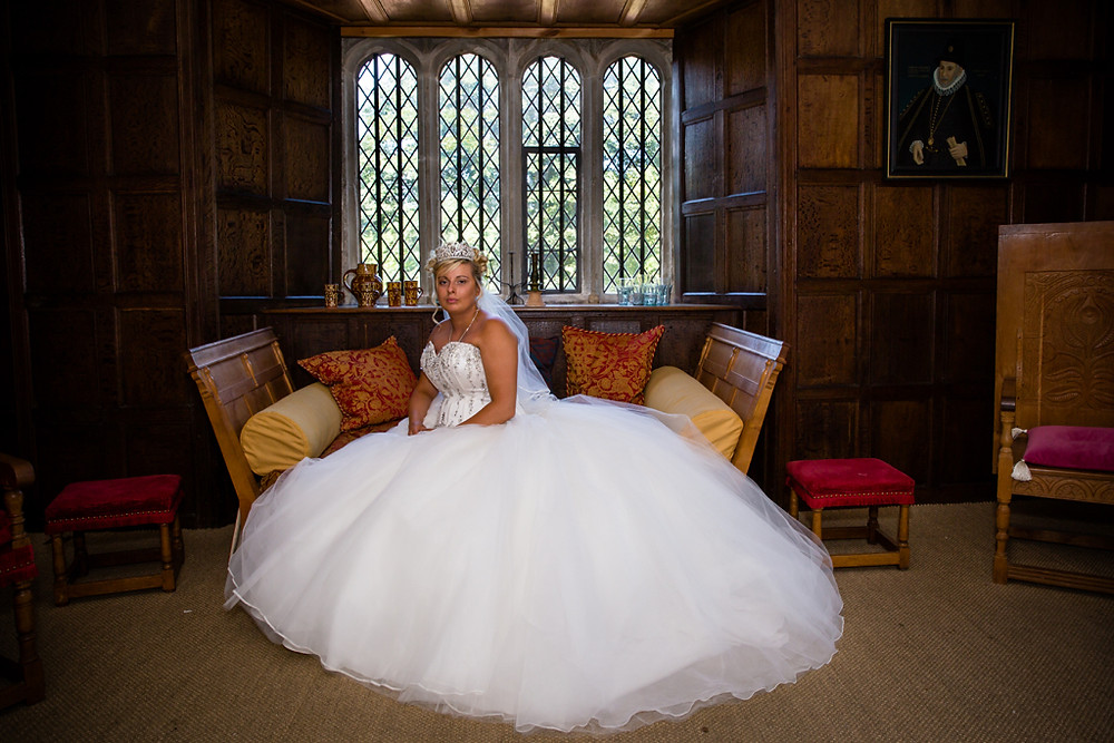 Bride on her own