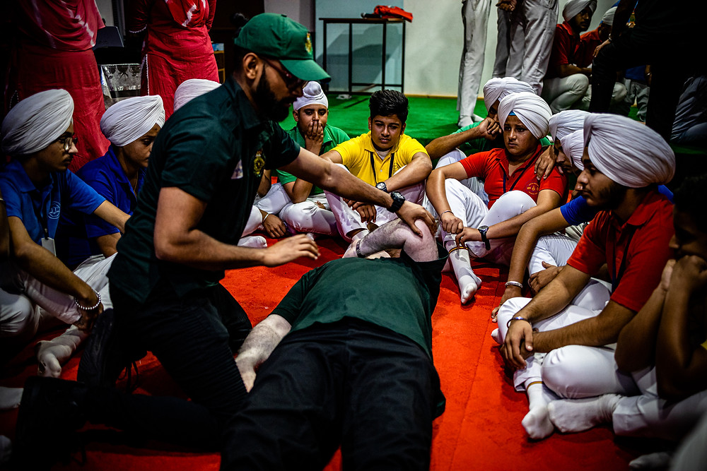 First aid training India 2019