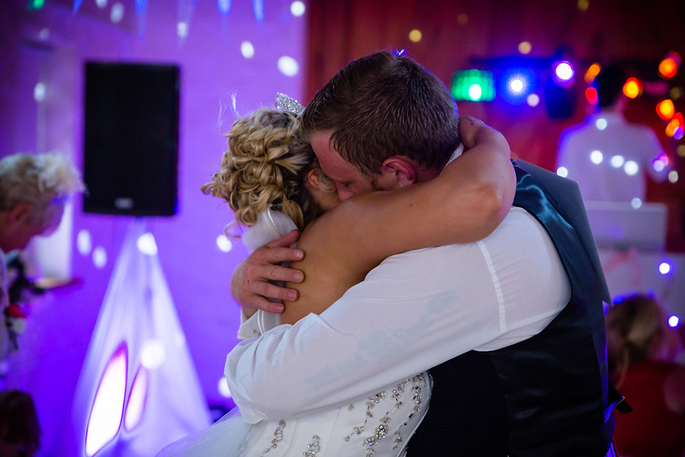 End of first dance