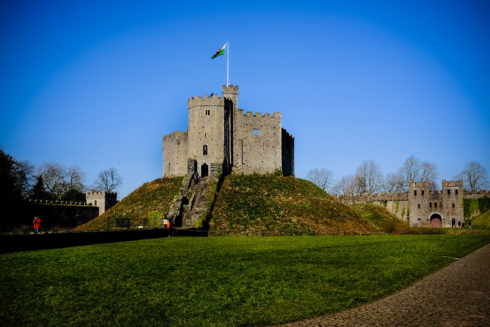 Photographing Cardiff Castle