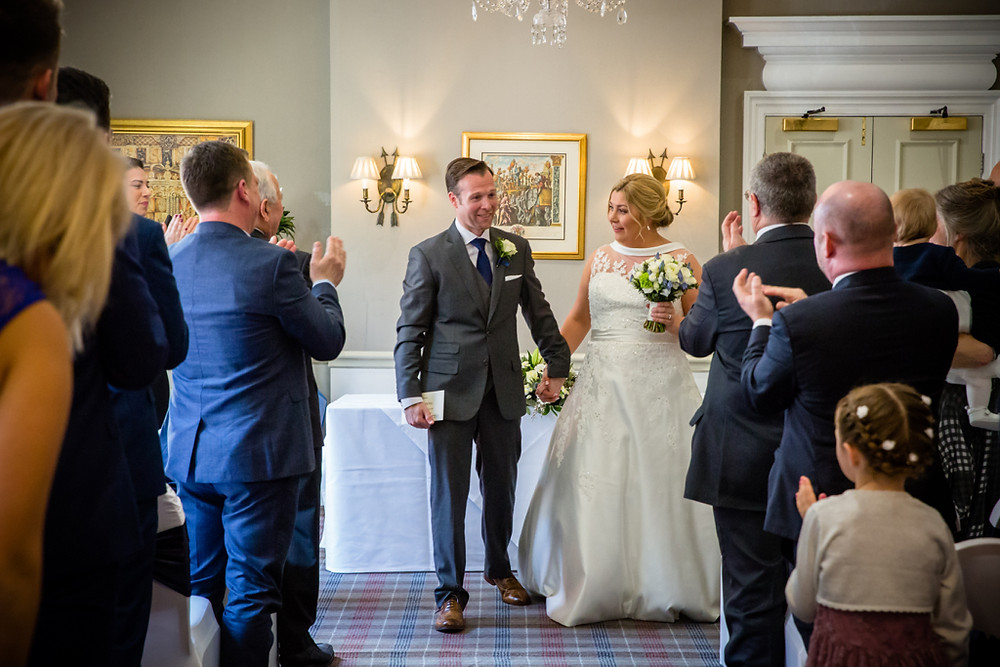 Wedding at Angel Hotel Cardiff