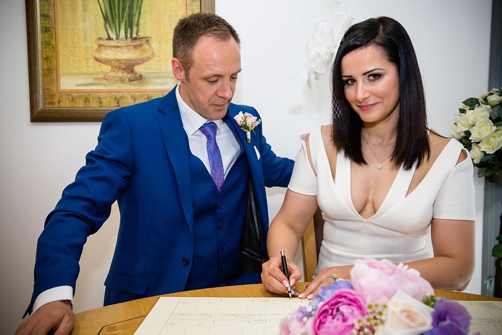 Married at Ystrad Mynach