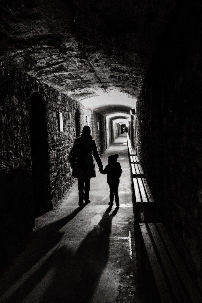 Cardiff castle war shelter