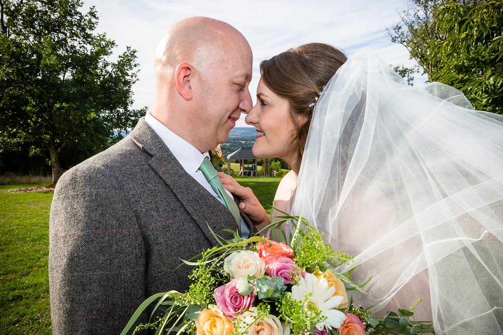 Photographing bride and Groom moments