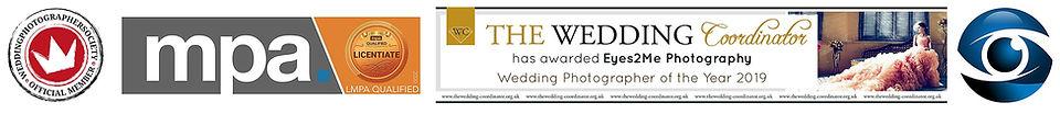 Wedding photography advertising image