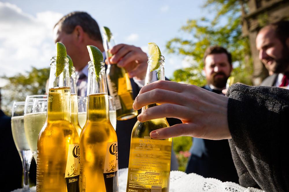 More drinks in the garden