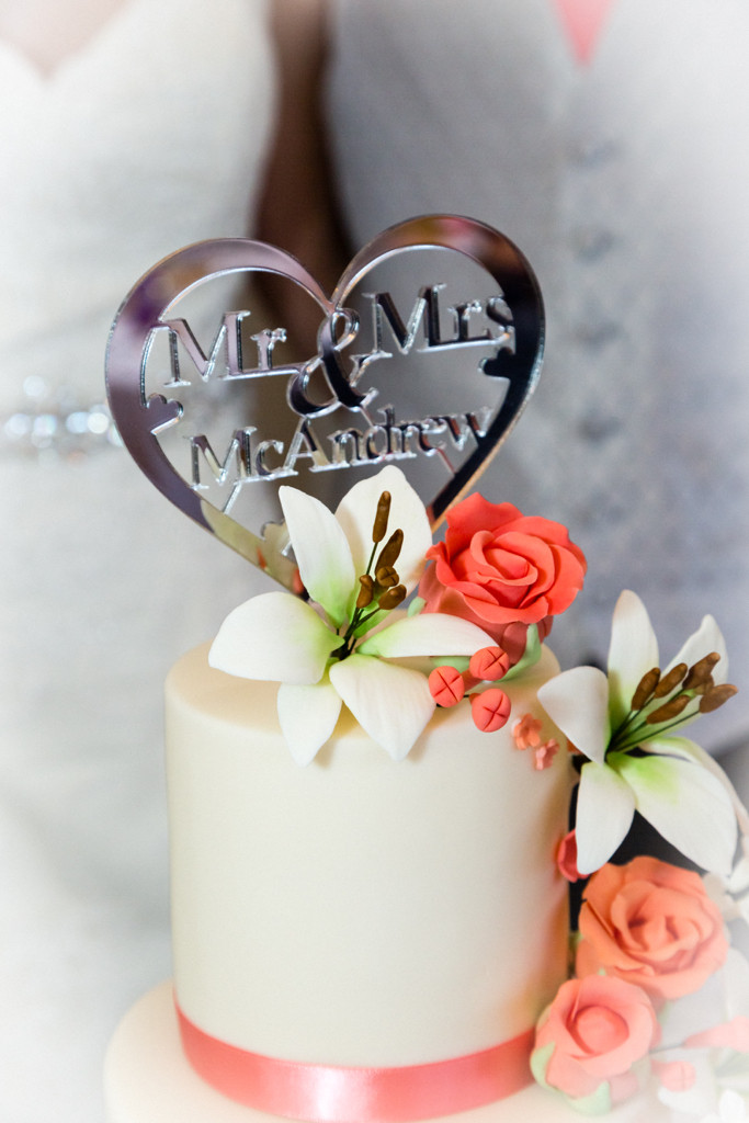 Wedding Cake at Herenston Hotel Ewenny