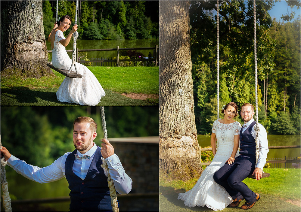 WeBride and Groom at the Canada Lodge and Lake Cardiff