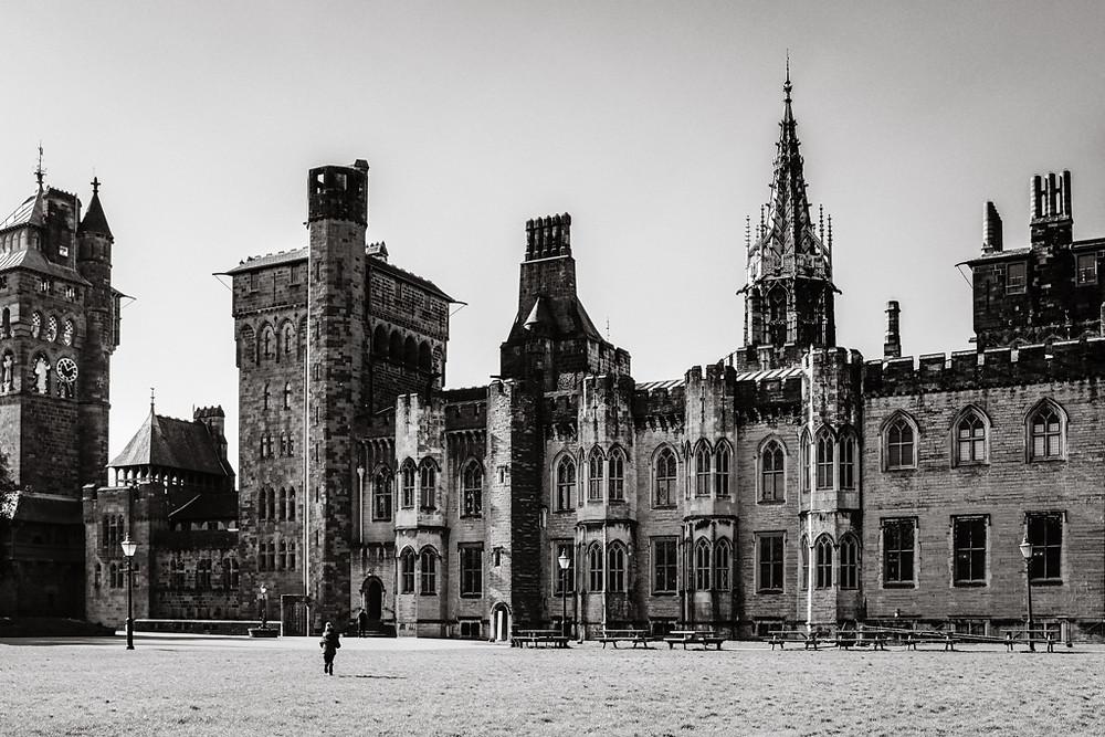 Cardiff castle house