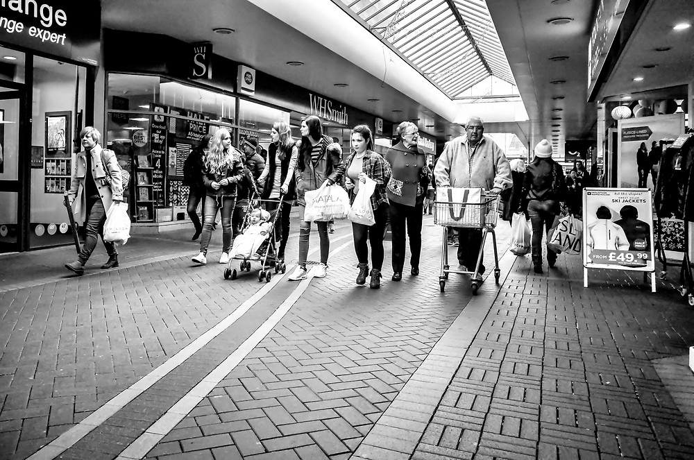 Eyes2Me Photography -wedding documentary photographer - Street image taken in Cwmbran