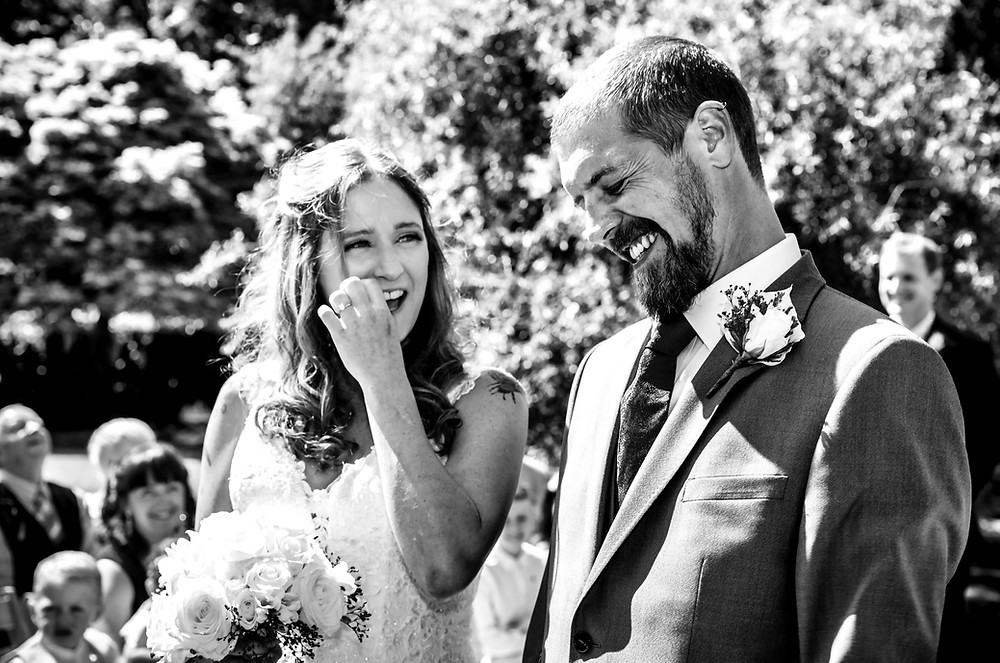 Summer wedding in Hereford