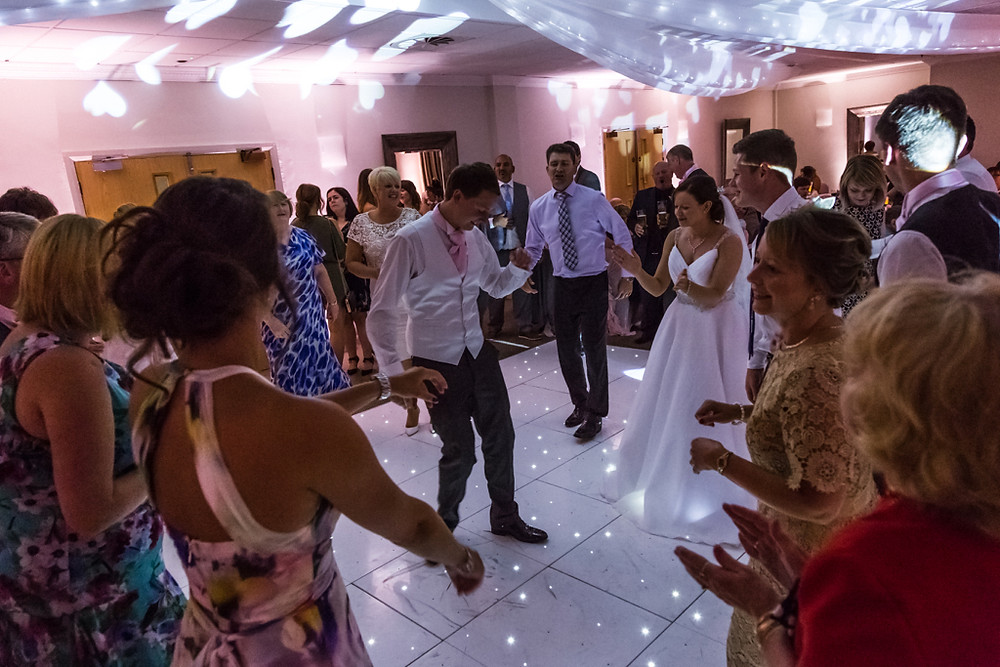 Disco Dancing at the Vale Resort