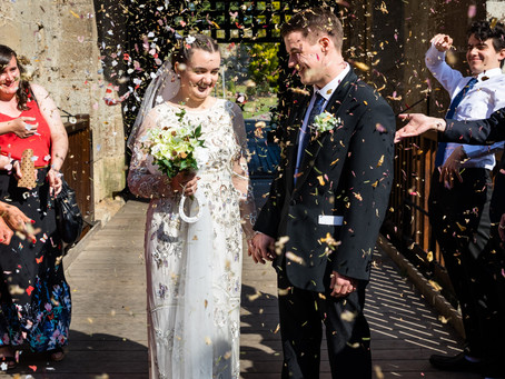 Wedding Photographer at Caldicot Castle, South Wales