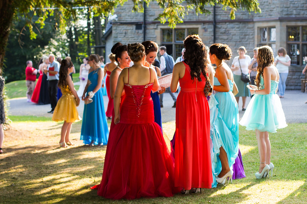School Prom at the Maes Manor Blackwood 2014