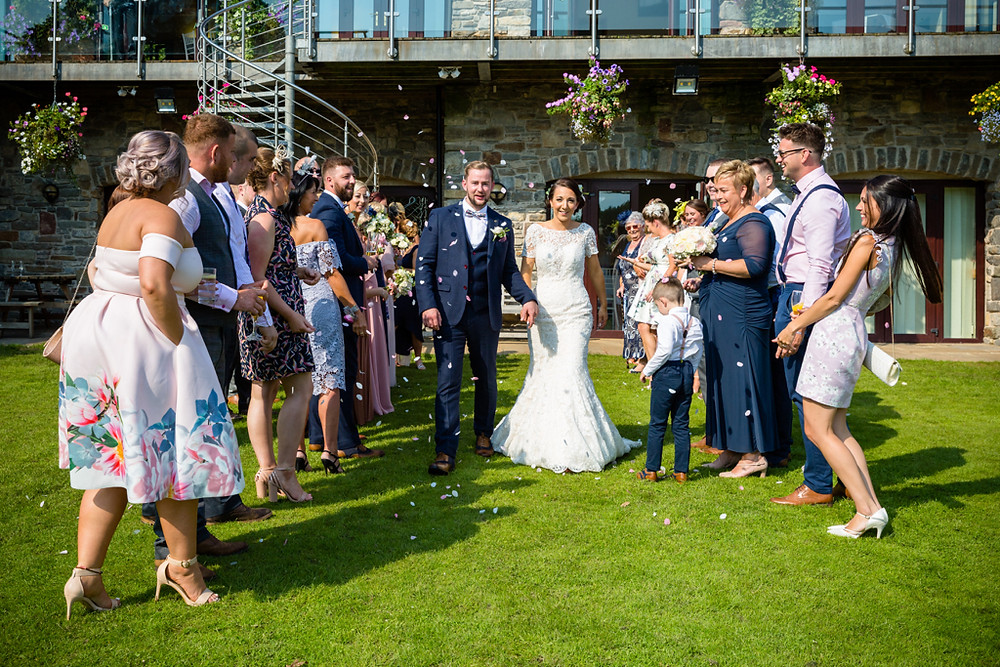 Wedding Party Photographs at Canada Lodge and Lake Cardiff