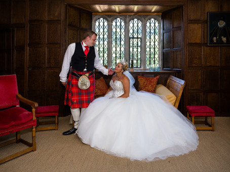 The Wedding of Kirsty and Jamie at Llancaiach Fawr Manor Nelson