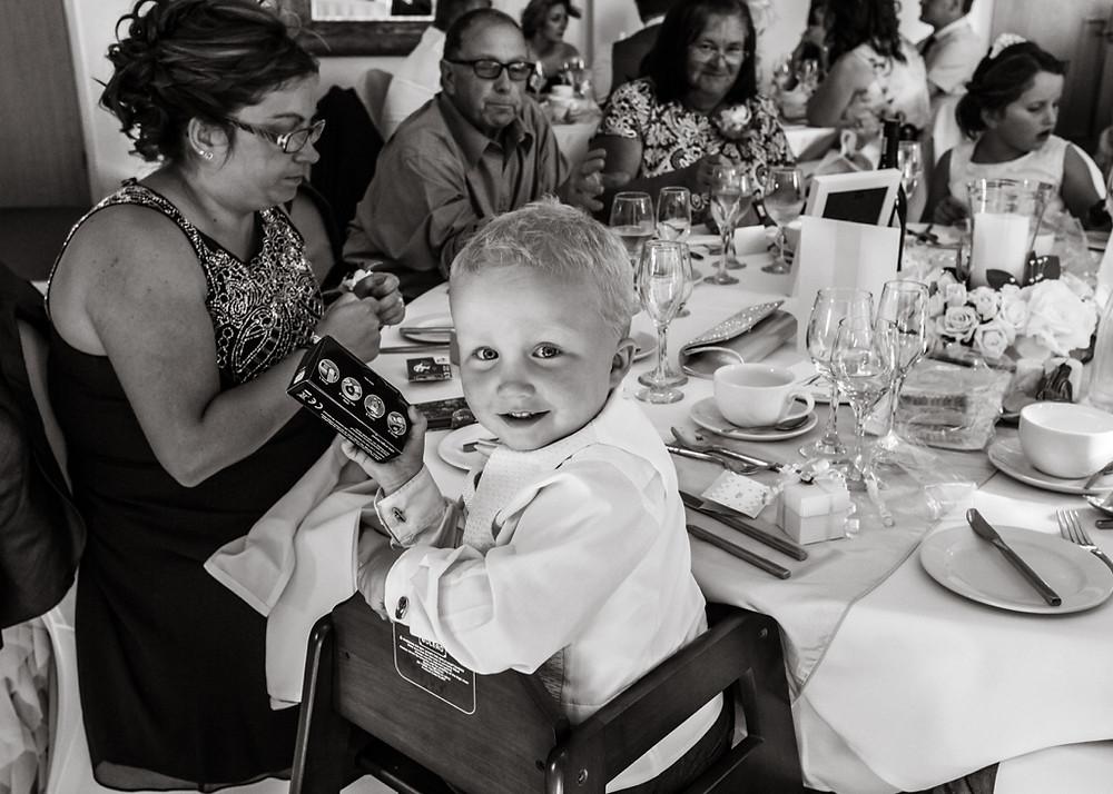 He got a camera too