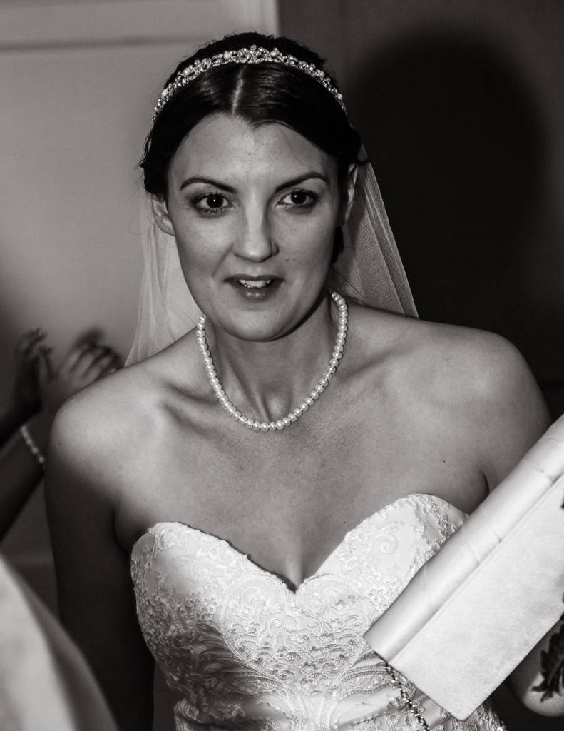 Bride moment at Herenston Hotel Ewenny