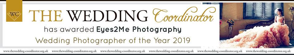 The Wedding Coordinator Award Banner