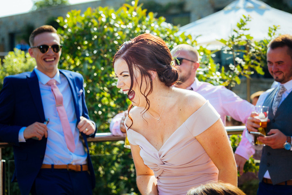 Wedding Party Photographs at the Canada Lodge and Lake Cardiff