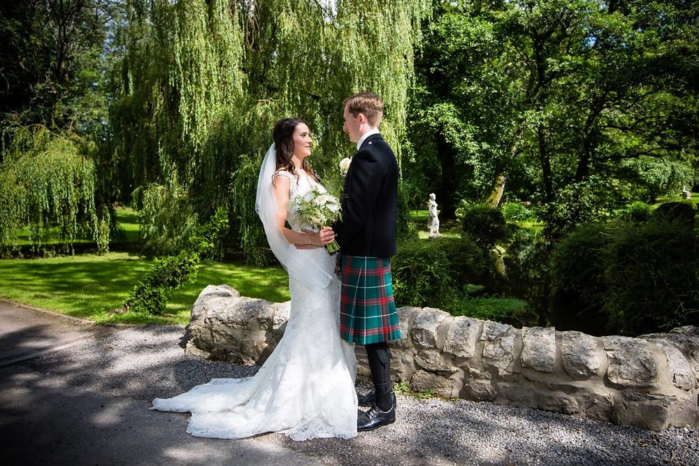 Wedding Photographer at Pencoed House Cardiff